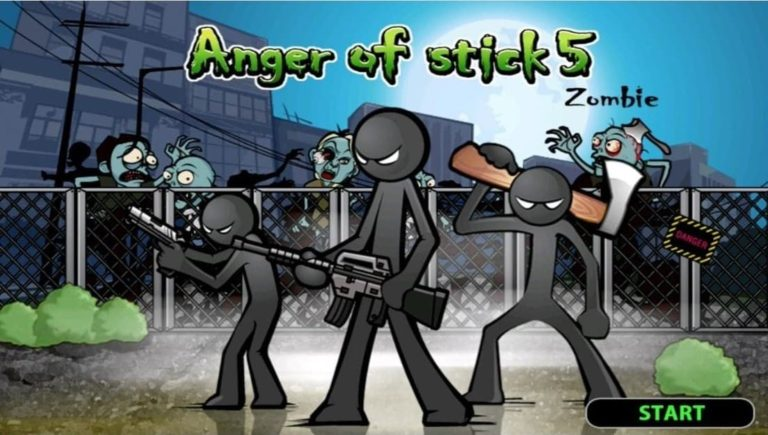 Anger Of Stick 5: Zombie MOD v1.1.45 APK (Unlimited) for Android & iOS