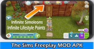 The Sims FreePlay Mod APK + Data Download (VIP, Unlimited Money, LP)
