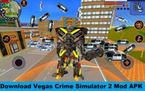 Vegas Crime Simulator 2 MOD Apk v2.6 (Unlimited Money, Diamonds, VIP)